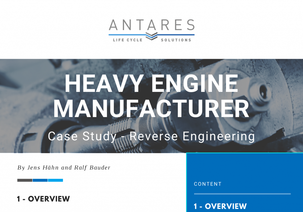 Case Study Reverse Engineering for Heavy Engine Manufacturer